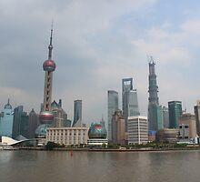 Pudong, Shanghai by Neil Grainger