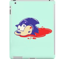 DIE SONIC DIE iPad Case/Skin