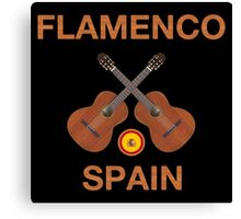 Flamenco spain Canvas Print