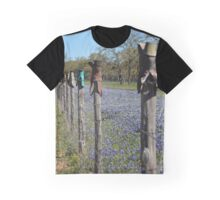 Boot Fence Graphic T-Shirt