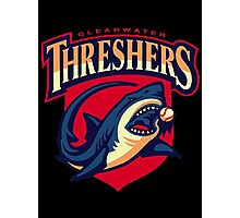 CLEARWATER THRESHERS Photographic Print