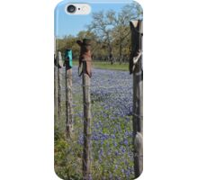 Boot Fence iPhone Case/Skin