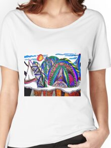 THERE'S NO PLACE LIKE DOME Women's Relaxed Fit T-Shirt