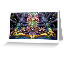 PSYCHEDELIC Zen Greeting Card