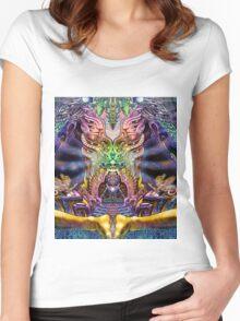 PSYCHEDELIC Zen Women's Fitted Scoop T-Shirt