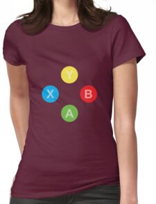 Controller - Xbox Womens Fitted T-Shirt