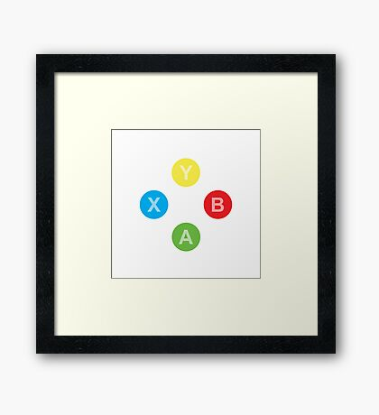 Controller - Xbox Framed Print