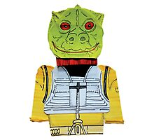 Origami Bossk Photographic Print