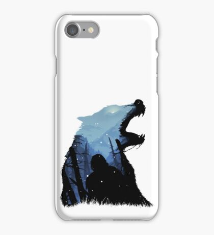 Jon Snow - King of The North iPhone Case/Skin