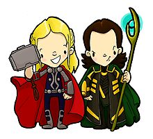 The brothers from Asgard by Bantambb
