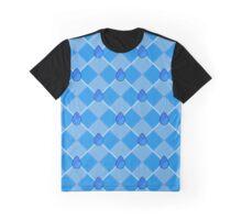 Steven Universe Lapis-Inspired Pattern Graphic T-Shirt