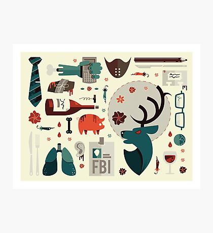 Hannibal Icons Photographic Print