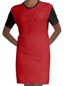 DEAD GIRL Graphic T-Shirt Dress