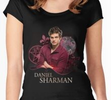 Daniel Sharman- The Originals Women's Fitted Scoop T-Shirt