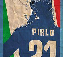 Andrea Pirlo by sdbros