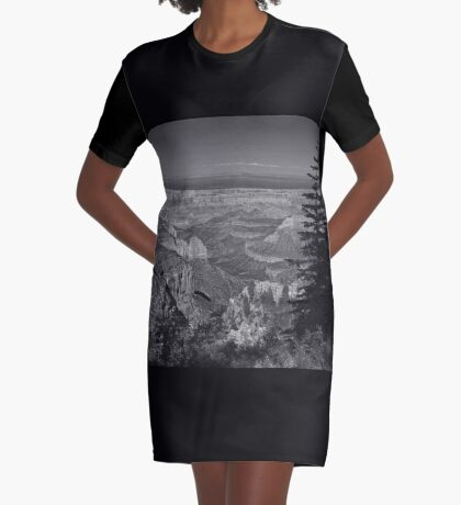I Can See Forever Graphic T-Shirt Dress