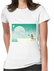 Pidge's View Womens Fitted T-Shirt