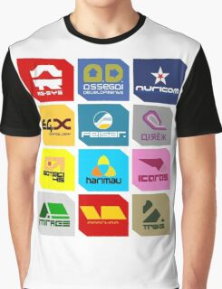 Wipeout Teams! Graphic T-Shirt