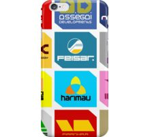 Wipeout Teams! iPhone Case/Skin