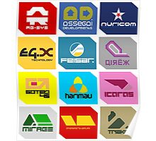 Wipeout Teams! Poster