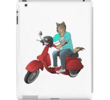 wolf rider iPad Case/Skin