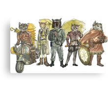 Steampunk Justice Revolution Clan Canvas Print