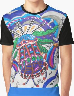 HELI-HOUSE....HELICOPTER Graphic T-Shirt