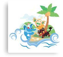 Poké Paradise  Canvas Print