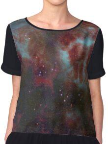 deep space Chiffon Top