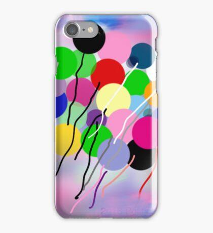 Balloons, by Roger Pickar, Goofy America iPhone Case/Skin