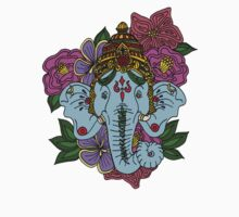Ganesh in the Garden by VictoriaAmaral