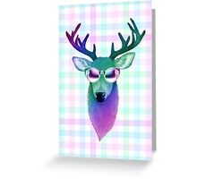 Rainbow Deer Greeting Card