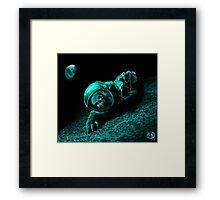 Dead-stronaut Framed Print