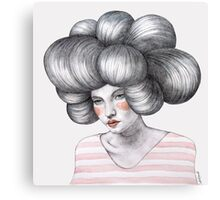 Dropless Agata Canvas Print