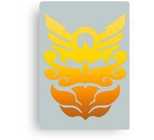 MegaForce/Goseiger Symbol - All Rangers/Robo Knight Canvas Print