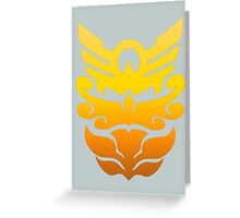 MegaForce/Goseiger Symbol - All Rangers/Robo Knight Greeting Card
