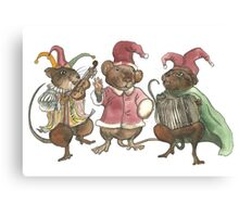 Clown Mice Canvas Print