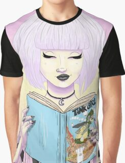 Girls read comics too! Tank Graphic T-Shirt