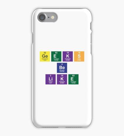 Geeks Be Like iPhone Case/Skin
