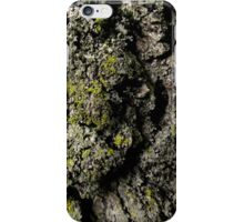 mossy bark iPhone Case/Skin
