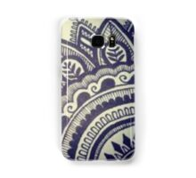 Beautiful Henna Hippie Flower Samsung Galaxy Case/Skin