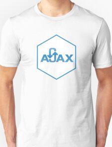 ajax programming language hexagon hexagonal sticker Unisex T-Shirt