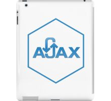 ajax programming language hexagon hexagonal sticker iPad Case/Skin