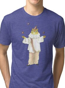 Clown Cat Tri-blend T-Shirt