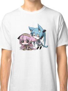 Cute Cat Girls Classic T-Shirt