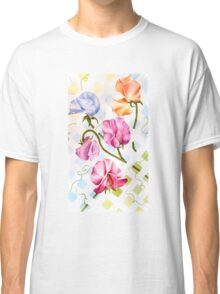 COLORFUL SWEET PEAS! Classic T-Shirt
