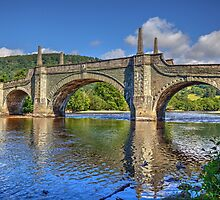Aberfeldy Bridge by FLYINGSCOTSMAN