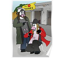 jay and silent bob cow Poster