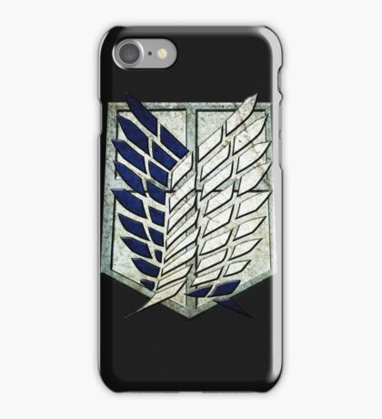 attack on titans iPhone Case/Skin