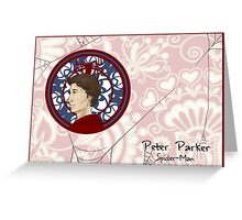 Spider-Parker Greeting Card
